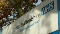 Mid Staffordshire NHS Foundation Trust sign
