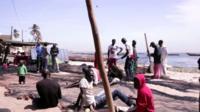 Hann Bay in Senegal
