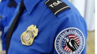 Transportation Security Administration badge