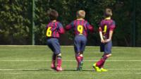 FC Barcelona academy players