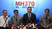 Malaysian transport minister Hishammuddin Hussein