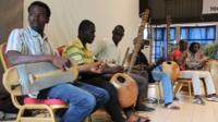 Students at Mali's Conservatory of Arts and Multimedia Balla Fasseke Kouyate