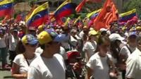 Demo in Caracas