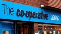 Co-operative bank exterior