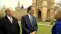 Mark Pritchard, Mark Field and Eleanor Garnier
