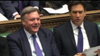 Ed Balls and Ed Miliband at PMQs