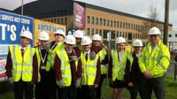 The building of a new Archbishop Beck Catholic High School in Liverpool