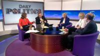 Jo Coburn, Andrew Neil, Anna Soubry, Emma Reynold and Nick Robinson