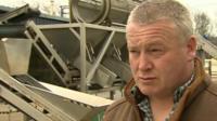 Mark Swistun of Penclawdd Shellfish Processors Ltd