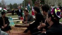 Musicians at Persian New Year
