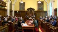 Belfast City Council meeting