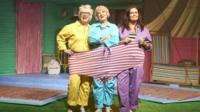 Jenny Eclair, Susie Blake and Kate Robbins in Return of the Grumpy Old Women