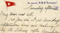 Letter written by survivor Esther Hart