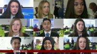 BBC School Reporters on Newswatch