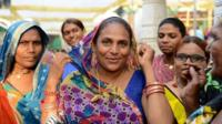 Indian Transgender residents pose for a photograph