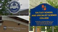 School sign composite image
