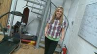 Newsround's Jenny takes a special behind the scenes tour of Diversity's dance studio