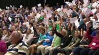 NUT members vote on strike action
