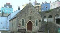 St Julian's chapel in Tenby