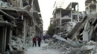 Rebels make their last stand in Homs