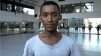 Ballet dancer Thabang Mabaso
