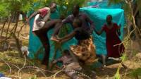 Fight breaks out in refugee camp