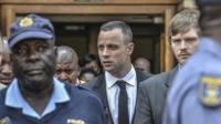 South African paralympic Oscar Pistorius