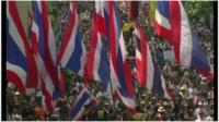 Thai protestors
