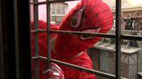 The Indian Spiderman is an independent political candidate