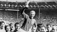 1966 World Cup Final: Bobby Moore lifts World Cup