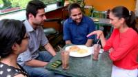 Babita Sharma meets a group of young voters