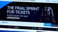 Glasgow 2014 website