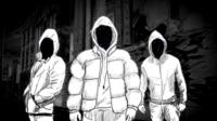 Animated image of a gang