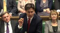 Ed Miliband at PMQas