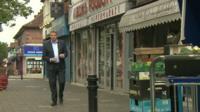BBC London's Tim Donovan