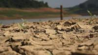 Record low water levels at Sao Paulo's main reservoir