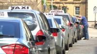 Taxi rank, Yeovil