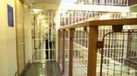 Inside a jail