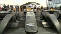 Formula E car at Donington Park