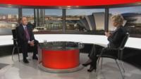 Alex Salmond and Sally Magnusson