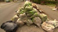 Dumped waste