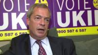 Ukip leader Nigel Farage MP