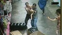 Chinese TV says footage shows men catching baby falling from balcony
