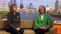 Harriet Harman MP and Theresa May MP