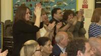 Teachers at the school under threat