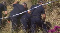 British police searching scrubland in Praia da Luz
