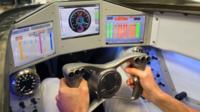 Inside the Bloodhound supersonic car (c) Bloodhound SSC