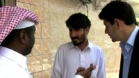 BBC searches for freed 'Taliban five'