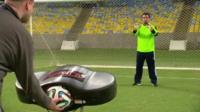 Goal line technology testing