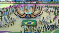 Watch highlights from the World Cup opening ceremony